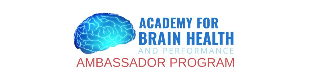 BRAIN HEALTH AMBASSADOR PROGRAM