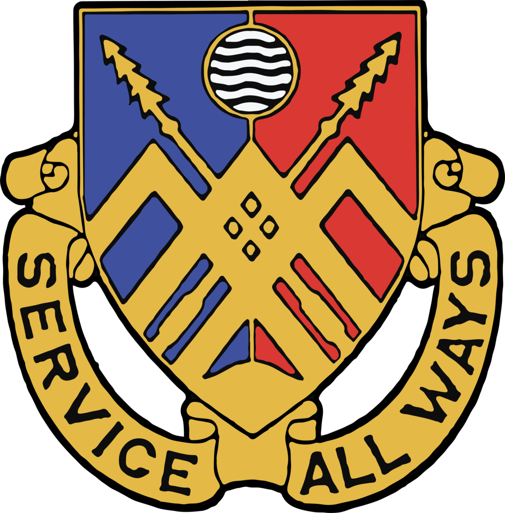 "29th Brigade Support Battalion (BSB) Logo. ""Service All Ways"""
