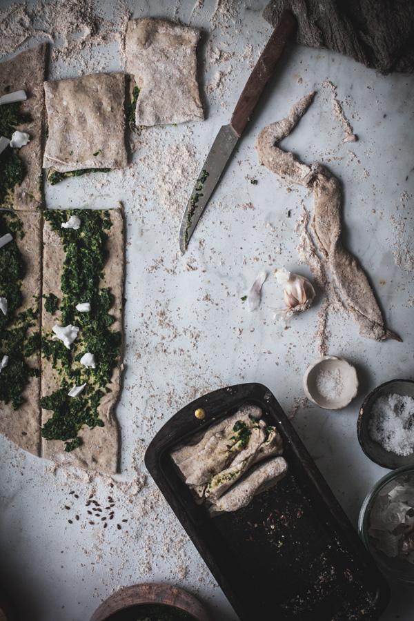 vegan pull apart bread + social media masterclass