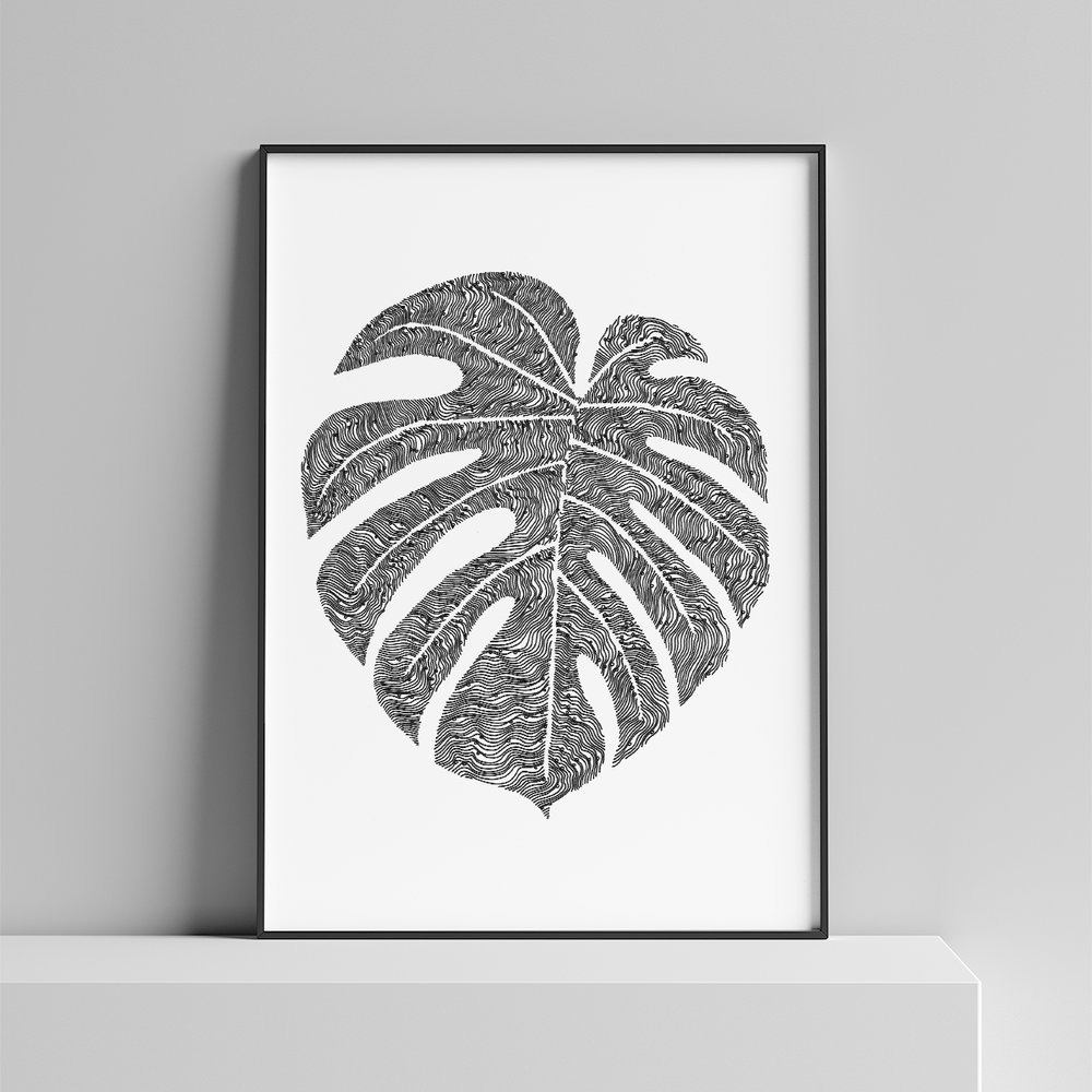 LINE AND CIRCLE DRAWINGS - These unique hand drawn illustrations are an ideal gift for filling your walls with intrigue.