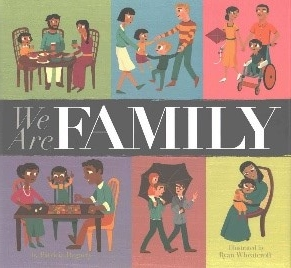 - We Are Family by Patricia HegartyNot about embryo donation, but an awesome book sharing different types of families, including some who look like each other, others who don't. What makes a family is being there for each other. Every page shows 10 different family types, all sticking together through thick and through thin. Even though every family is different, the love is all the same. My little guy LOVES this book. If time on a page is any reference to his appreciation, he loves this book 50 times more than any other book.