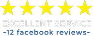 Five star rating for excellent service