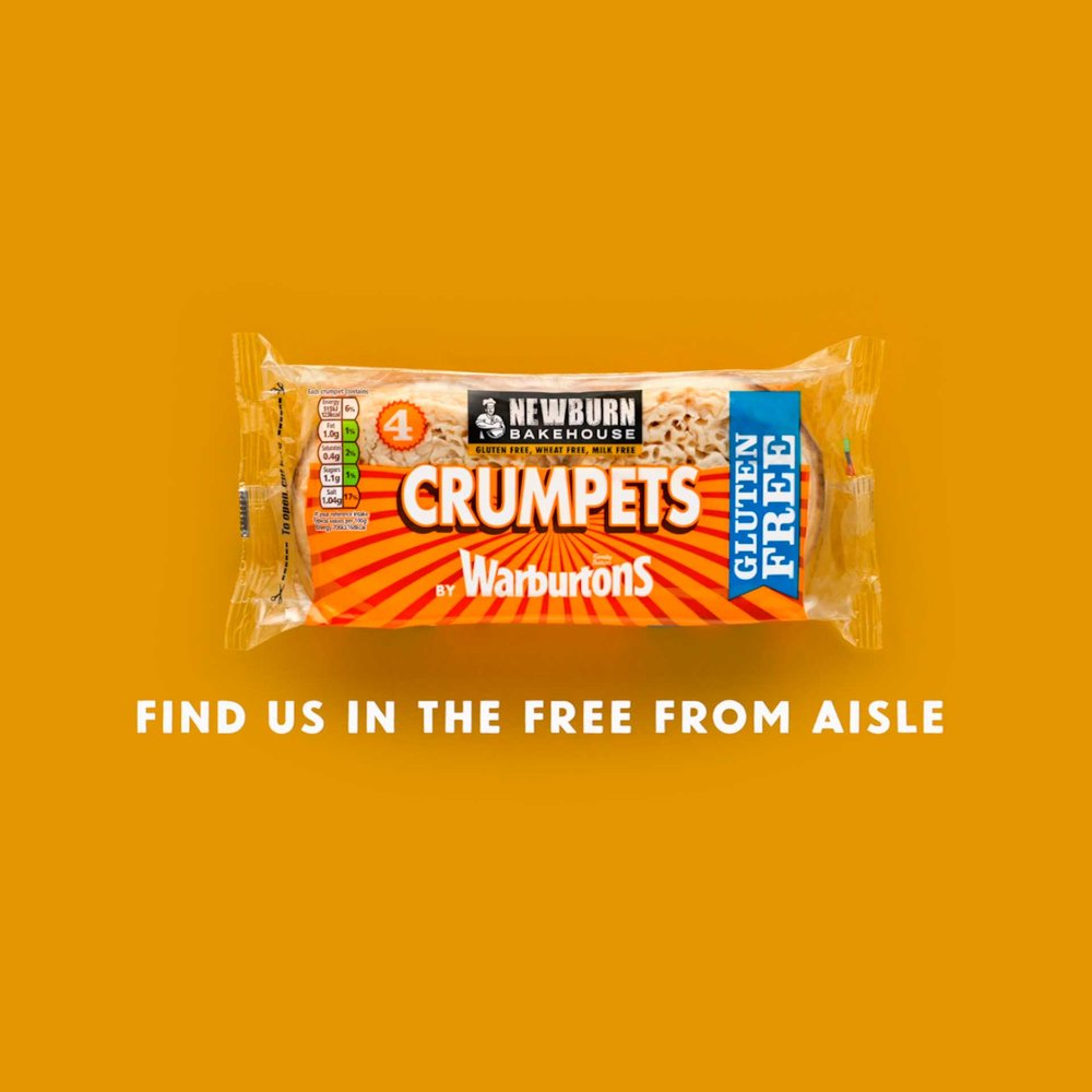 Warburtons Crumpets - Commercial