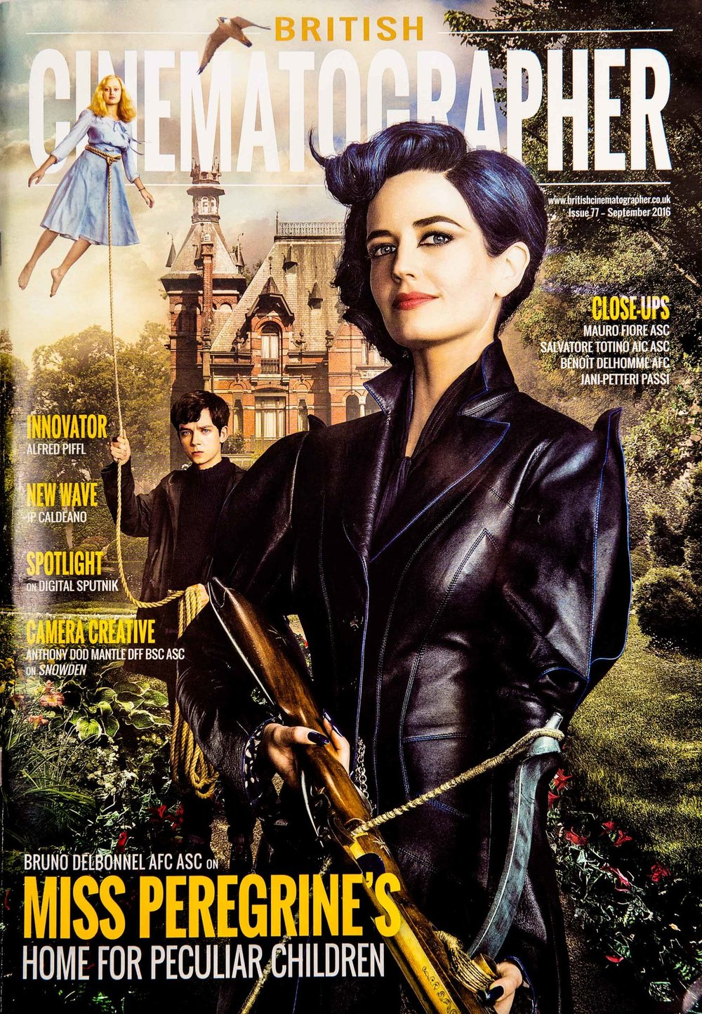 British Cinematographer Magazine Cinefade press cover