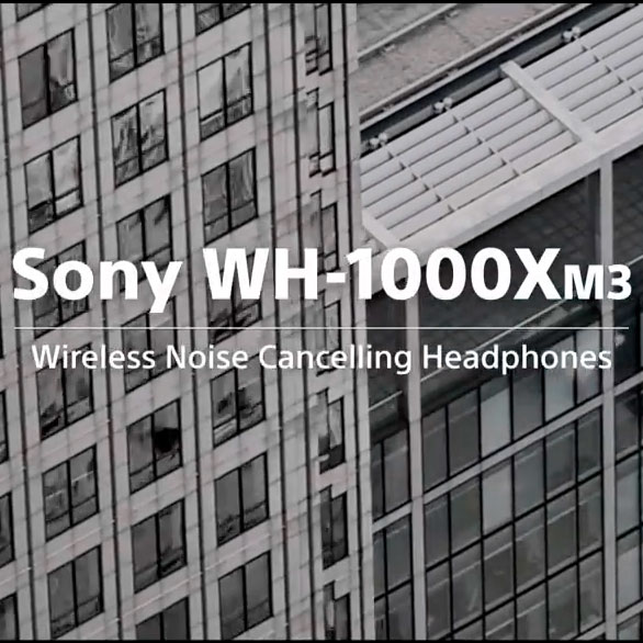 Sony headphones - Product video