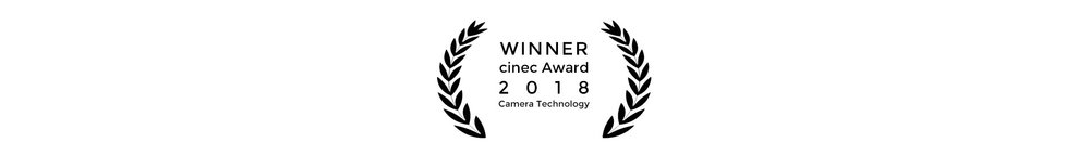 Cinefade Winner cinec Award 2018 for Camera Technology