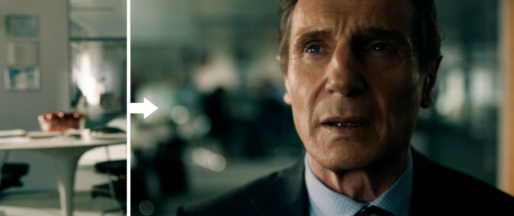 Cinefade scene from The Commuter (2018)