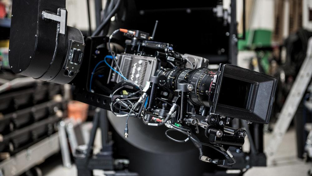 Cinefade system on Milo Motion Control rig