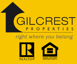 Gilcrest Properties REALTOR, MLS footer logo