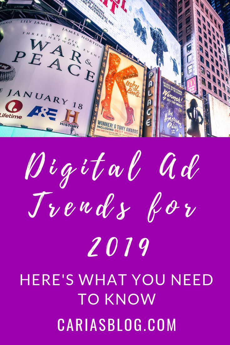 Digital Ad Trends for 2019