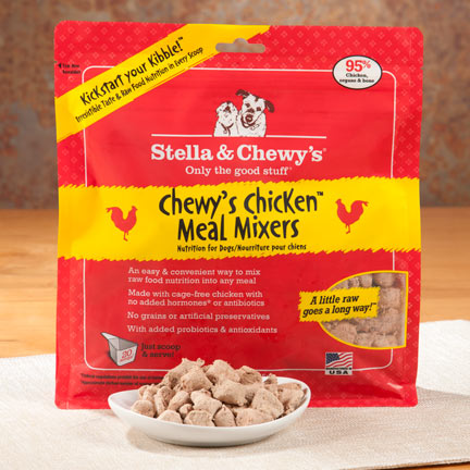Stella & Chewy's  is local to Oak Creek, WI and provides cat and dog products