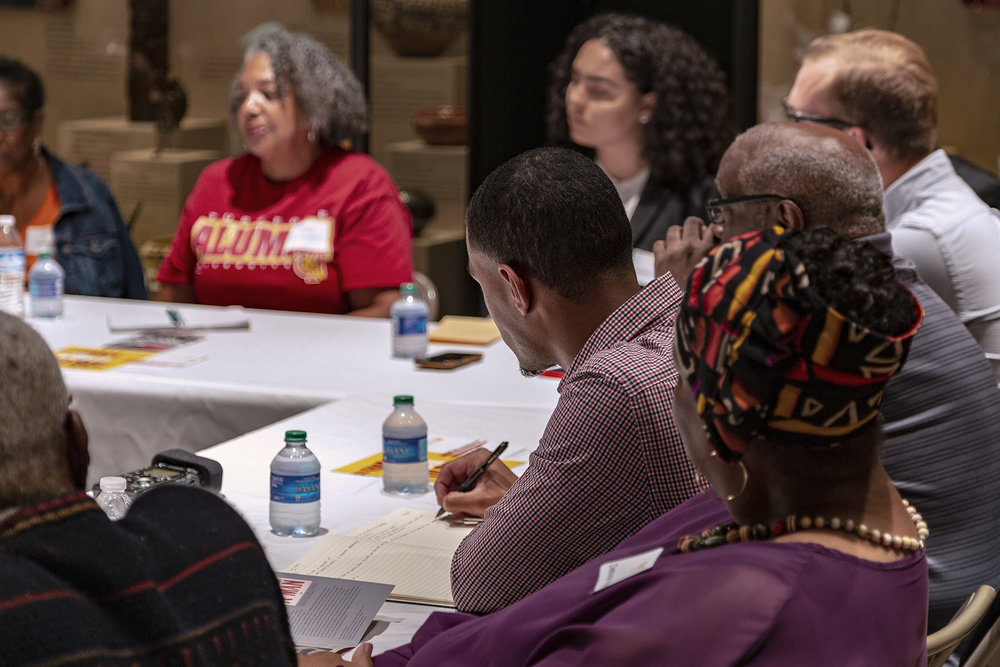 Brother Ali-Smith takes notes on how we can unify the community to tackle todays issues.