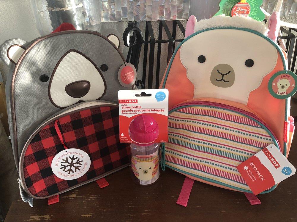 Skip hop backpacks! + matching waterbottle1