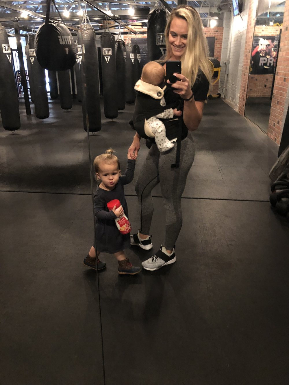 My Kora fitness seamless leggings with my sassy sidekicks