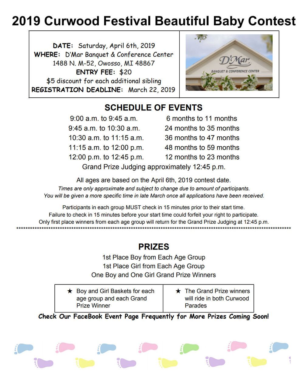 2019 Curwood Beautiful Baby Contest — Visit Owosso