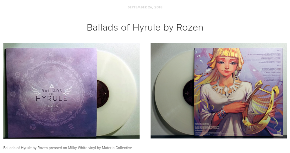 """Blog Post #2 - """"Ballads of Hyrule is as beautiful a journey as it is hauntingly poetic, and will leave you daydreaming of past and future adventures yet to come your way."""""""