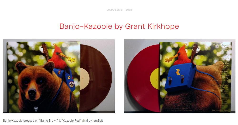 """Blog Post #7 - """"A soundtrack born during the height of the 64-bit era, the adventures of this furry bear and squawking bird lives forever in our hearts."""""""