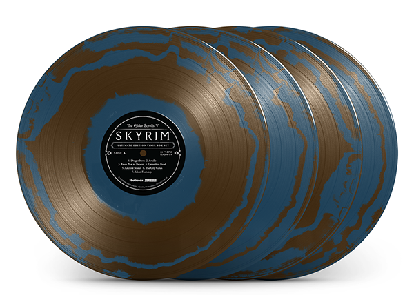 """Sapphire Circlet Colored Vinyl Variant"""