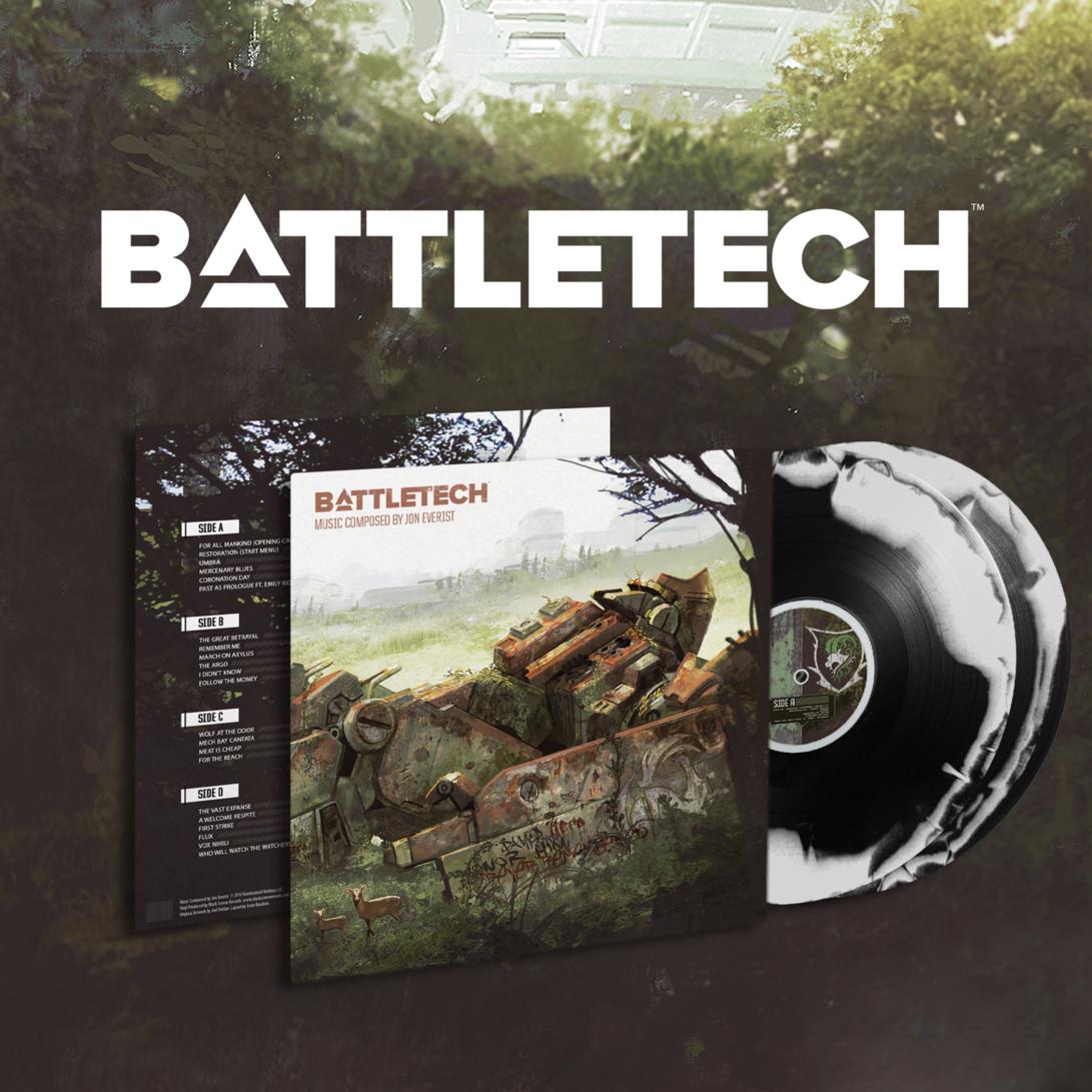 Jon Everist's BattleTech is Coming to Vinyl from Black