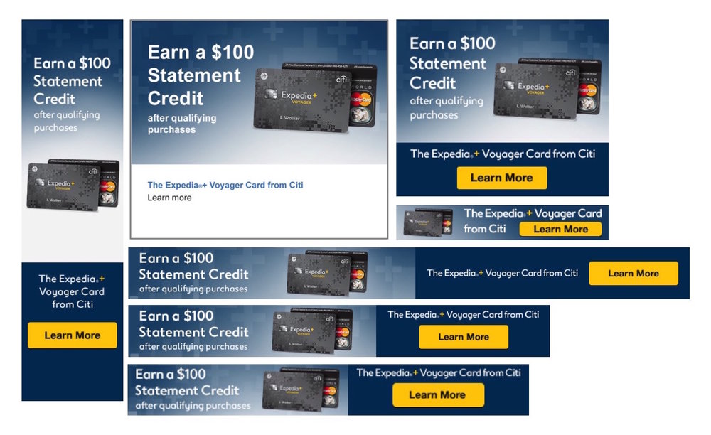 Credit Card Banners