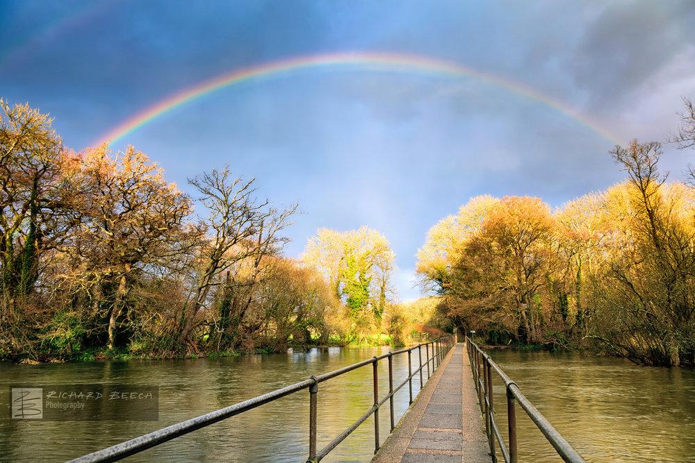 Rainbow over Moreton Ford