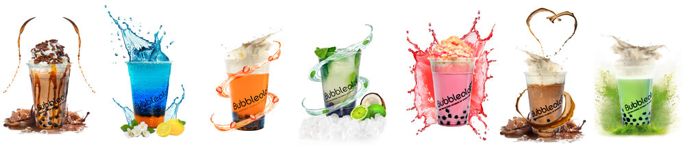 Bubbleology Advery - Splash New Drinks Campaign Spring 2018