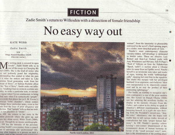 Times Literary Supplement Feature Photograph