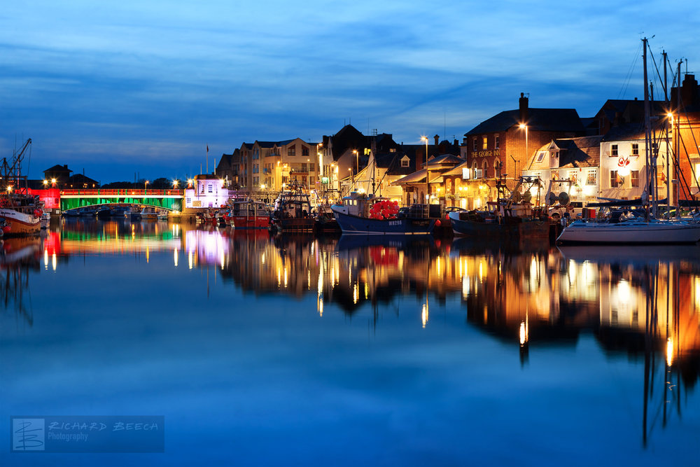 Weymouth Harbour Blue