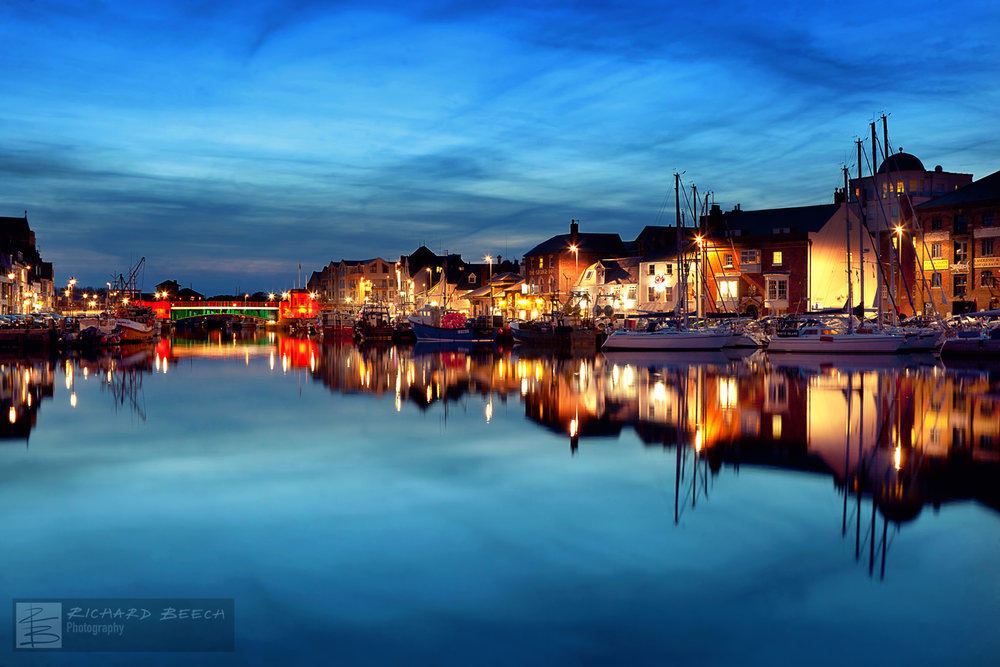 Blue Hour at Weymouth Harbour