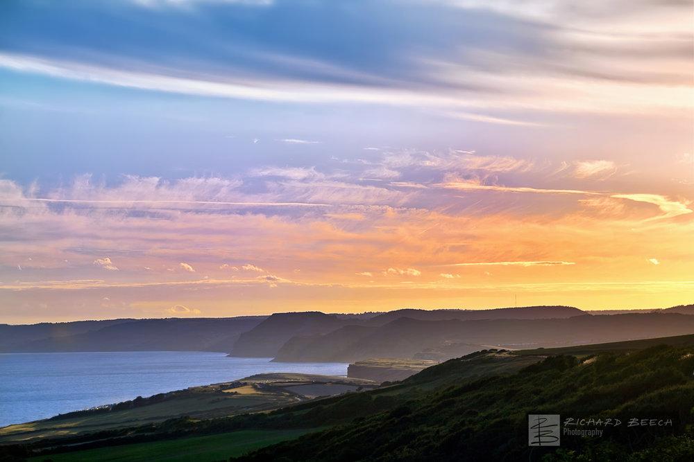 Jurassic Coast Sunset
