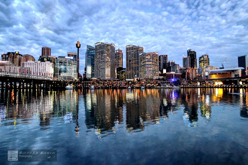 Darling Harbour Blue Hour