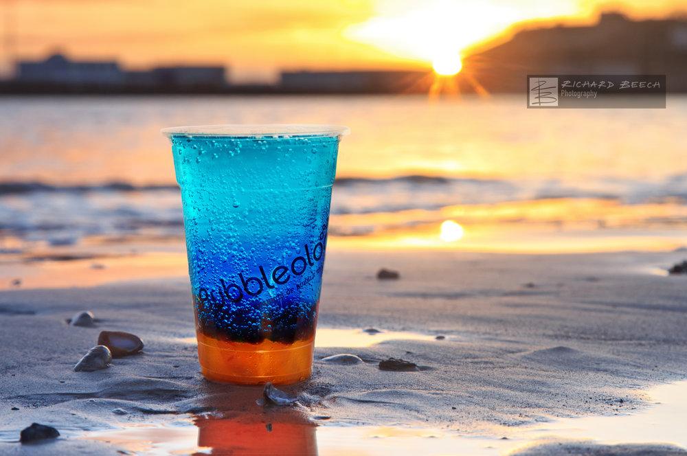 Electric Yuzu Sunrise Beach Campaign