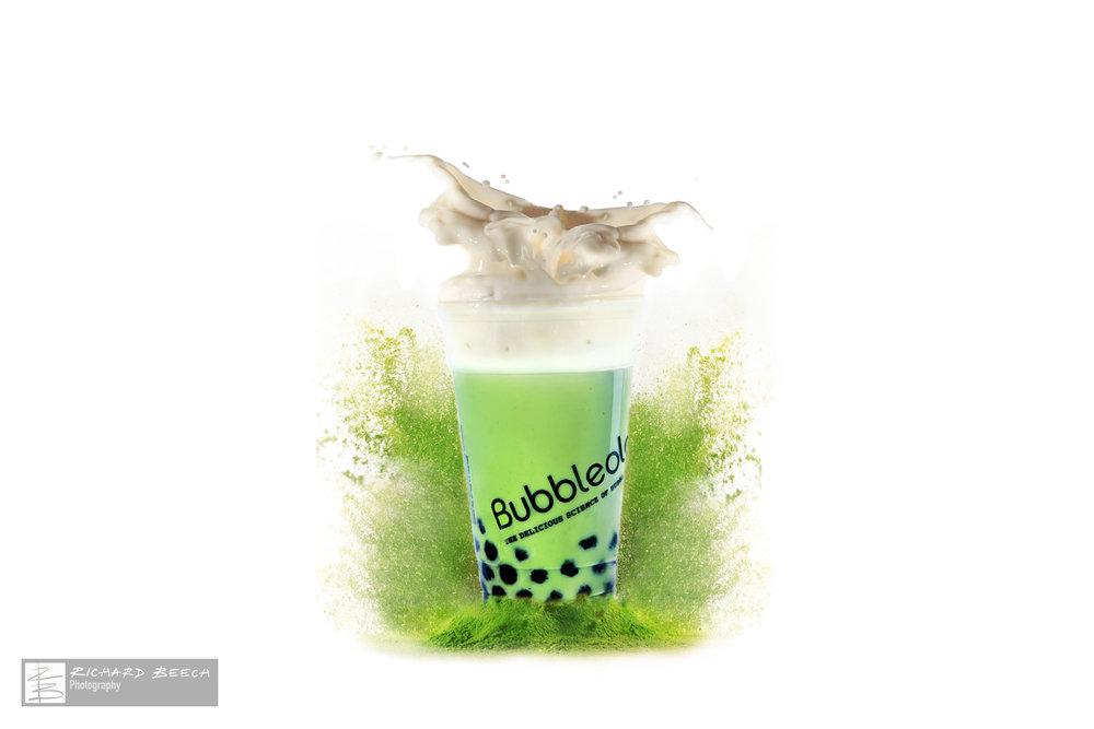 Matcha Tea Salt Crown: Splash Advert