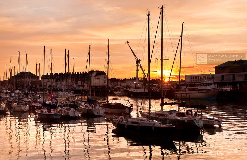 Harbour Yachts Sunset