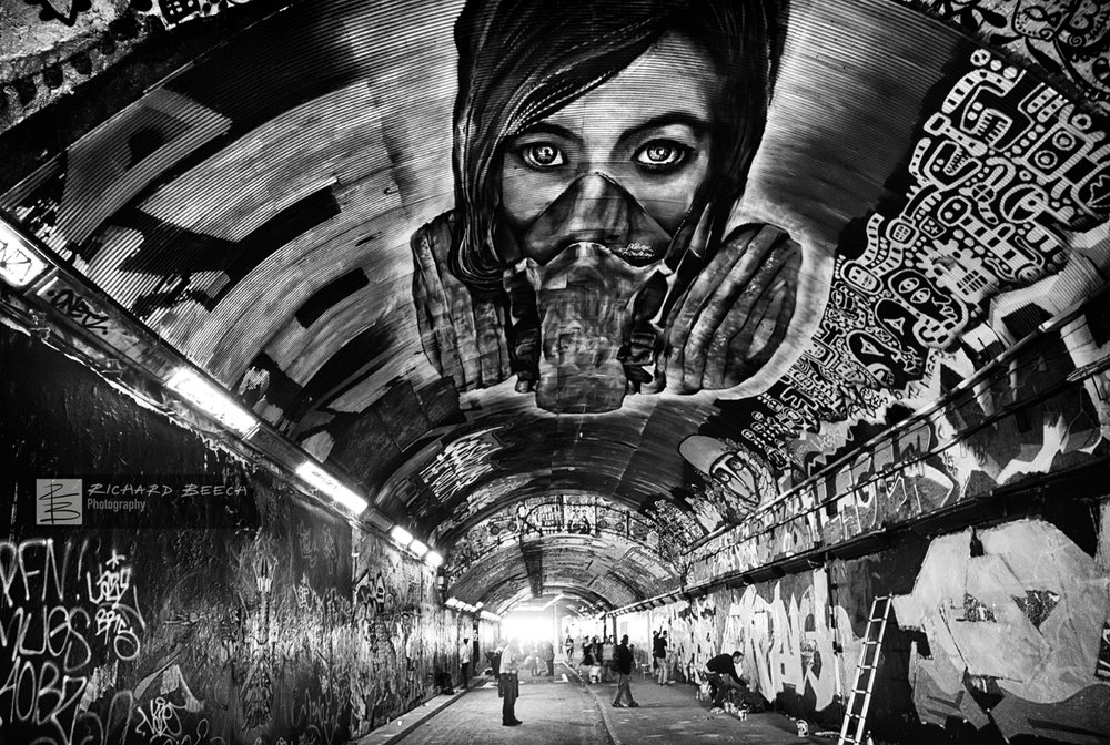 Leake Street Grafitti Tunnel