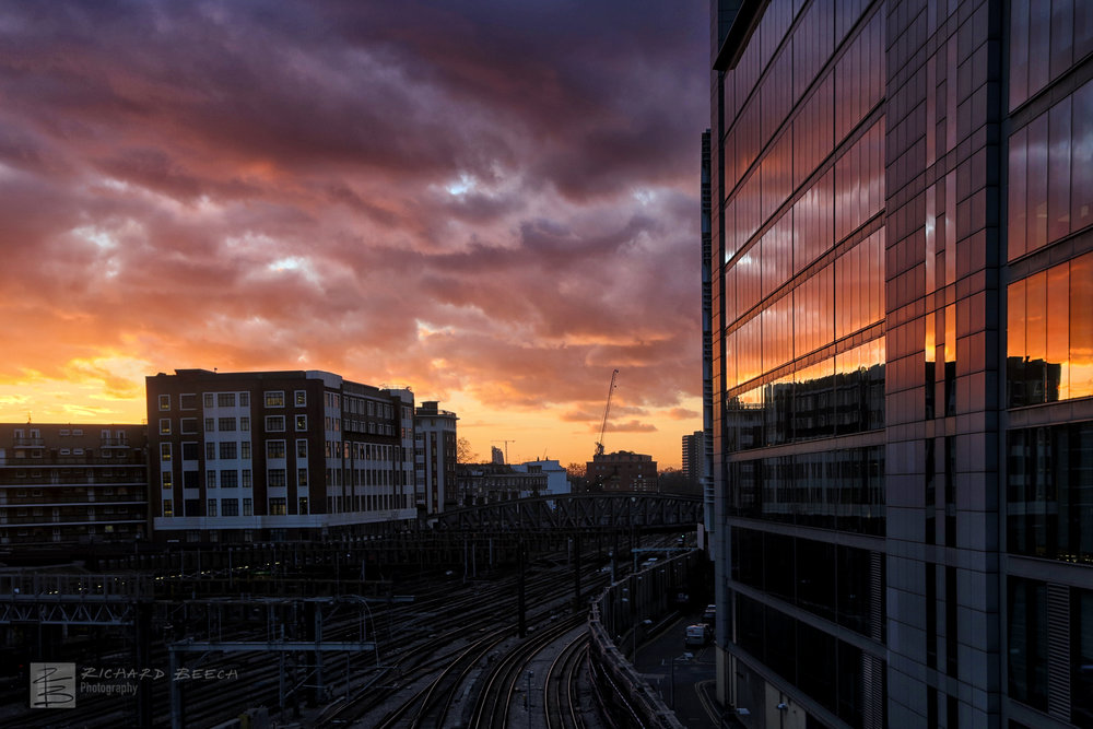 Paddington Sunset