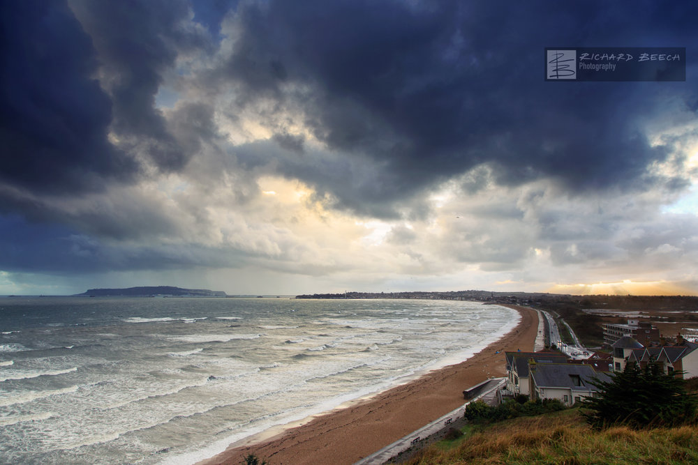 Storm over Weymouth Bay