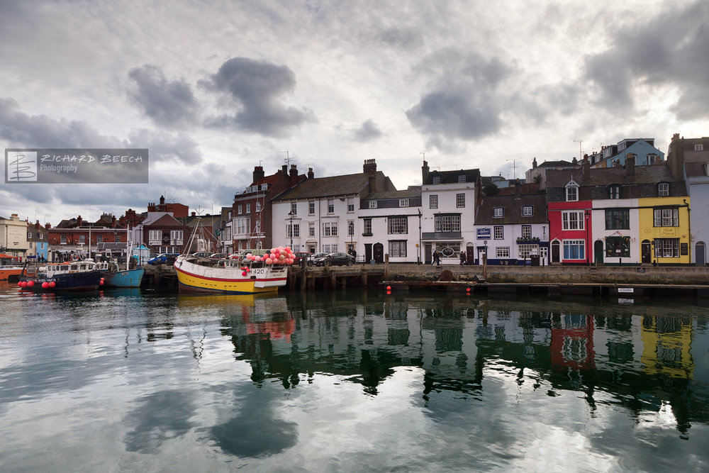 Stormy Weymouth Harbour