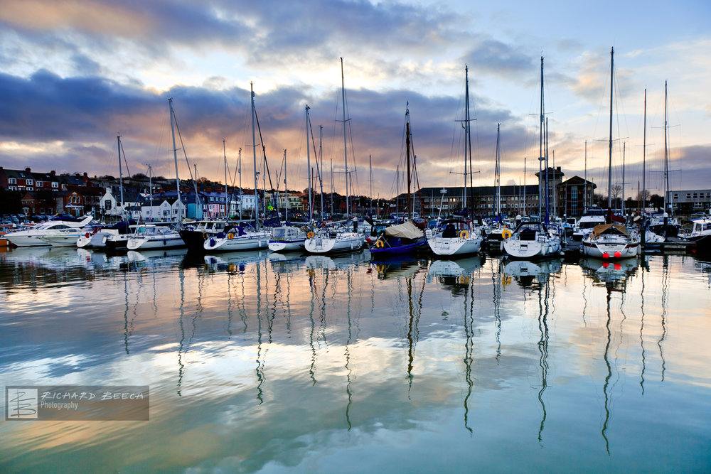 Yachts and Reflections