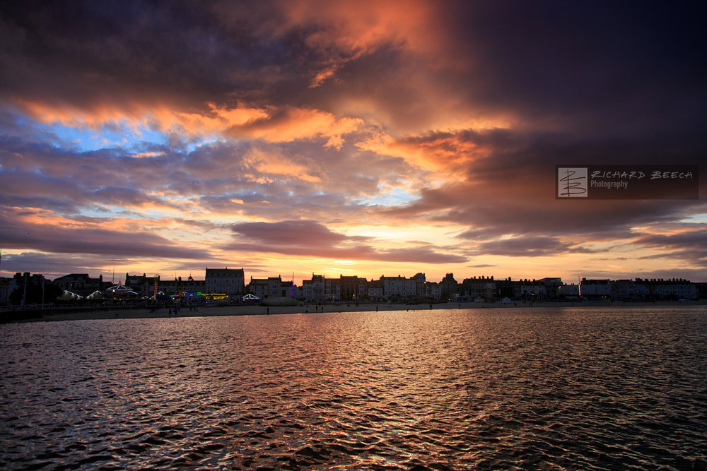 Stormy Sunset over Weymouth