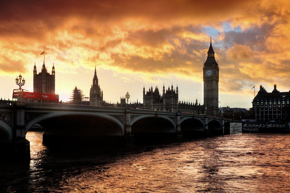 Westminster Bridge Sunset