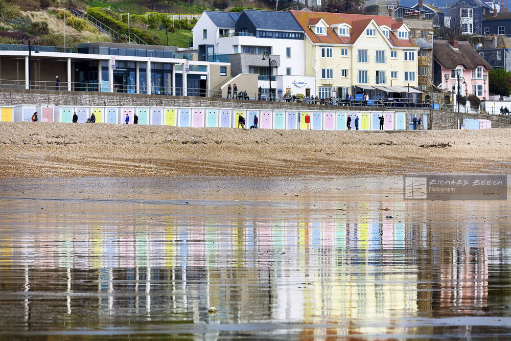 Wet Sand Reflections, Lyme