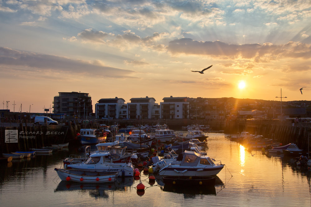 Harbour Sunset, West Bay