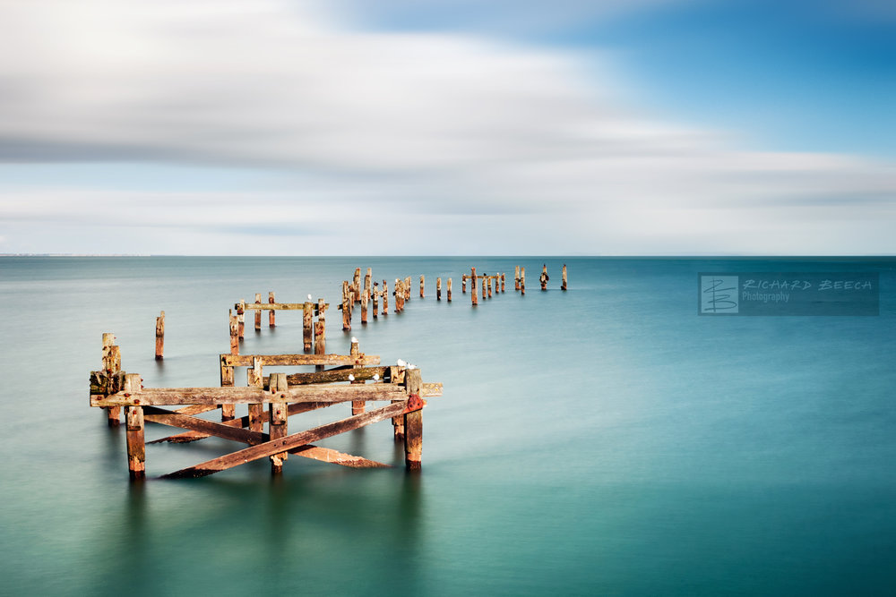 Old Pier in Swanage