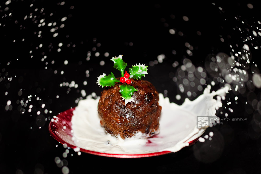 Xmas Pudding Splash