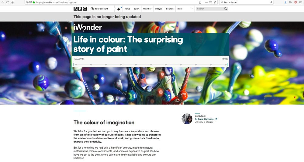 BBC Website (iWonder)