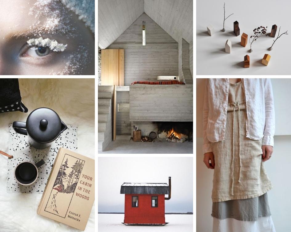 Sophie Delaporte for Vogue Italia// Buchner Brundler Architekten// Objects Mecaniques// Pip-Squeak Chapeau// Cabin Porn// Canva
