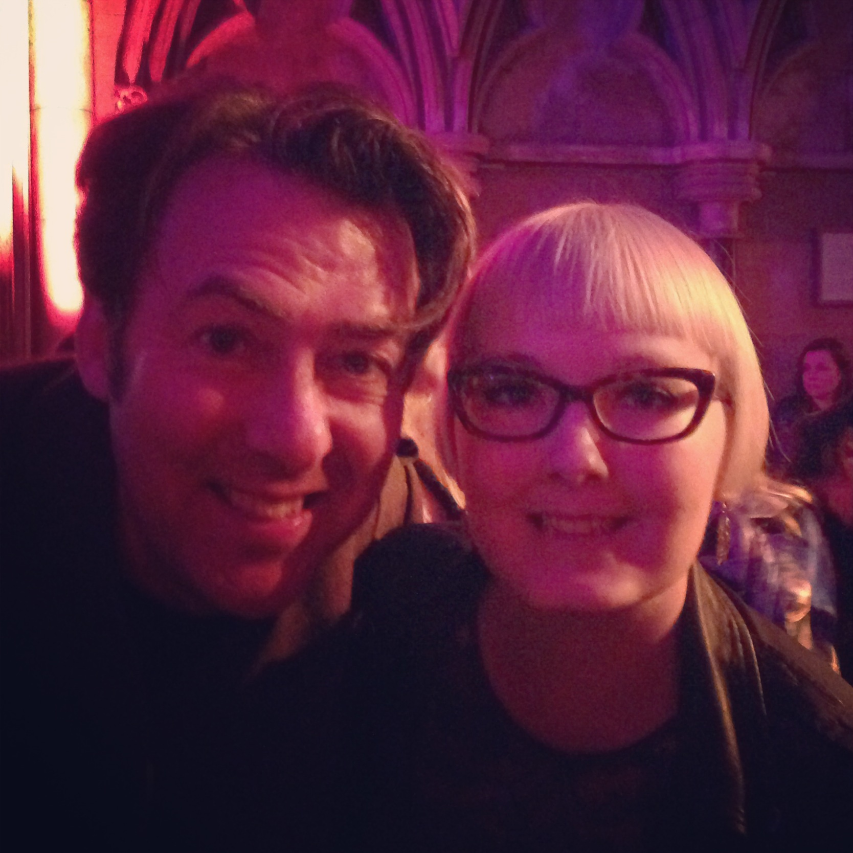 kathryn and wossy