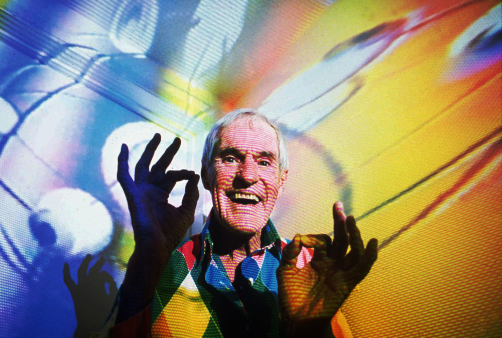 Timothy Leary. AP