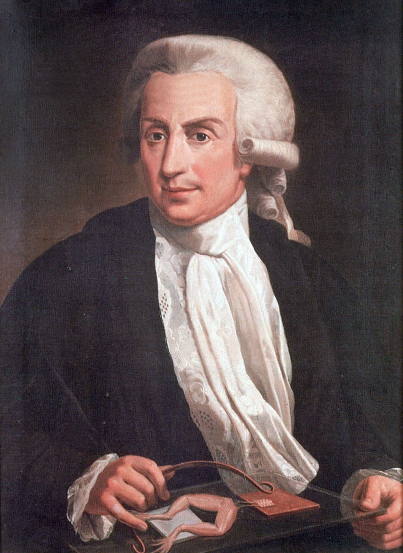 Luigi Galvani (Wikimedia Commons)